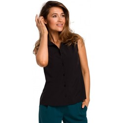 textil Mujer Tops / Blusas Style S172 Camisa sin mangas - negra