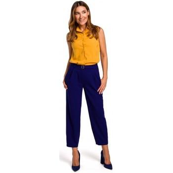 textil Mujer Tops / Blusas Style S172 Camisa sin mangas - amarilla