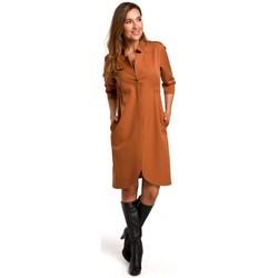 textil Mujer Vestidos Style S189 Vestido Blazer - jengibre