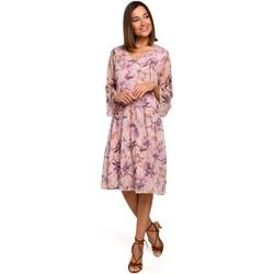 textil Mujer Vestidos cortos Style S214 Vestido de gasa con cintura caída - modelo 2