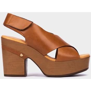 Zapatos Mujer Sandalias Pedro Miralles Bérgamo Marron