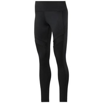textil Mujer Pantalones Reebok Sport Wor Mesh Tight Negros