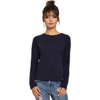 textil Mujer Tops / Blusas Be B047 Blusa versátil - azul marino