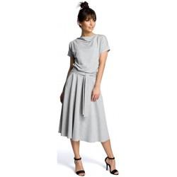 textil Mujer Vestidos cortos Be B067 Vestido acampanado - gris