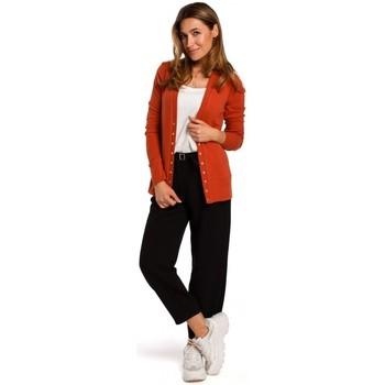 textil Mujer Jerséis Style S198 Cárdigan con botones de presión - jengibre