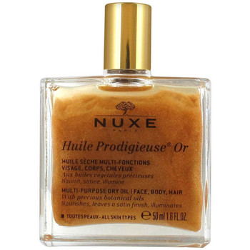 Belleza Mujer Tratamiento facial Nuxe SHIMMERING DRY OIL HUILE PRODIGIEUSE OR 50ML