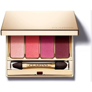 Belleza Mujer Sombra de ojos & bases Clarins PALETTE 4 COLORS - 07 LOVELY ROSE