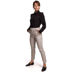 textil Mujer Camisas Be B165 Camisa de mangas abullonadas - negra
