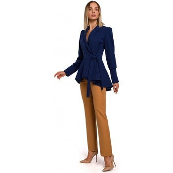 textil Mujer Chaquetas / Americana Moe M529 Chaqueta de cola - azul marino