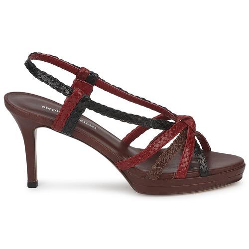 Cómodo y bien parecido Zapatos especiales Stéphane Kelian PRISCILLE Marrón / Rojo
