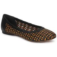 Zapatos Mujer Bailarinas-manoletinas Stéphane Kelian WHITNEY Marrón / Negro