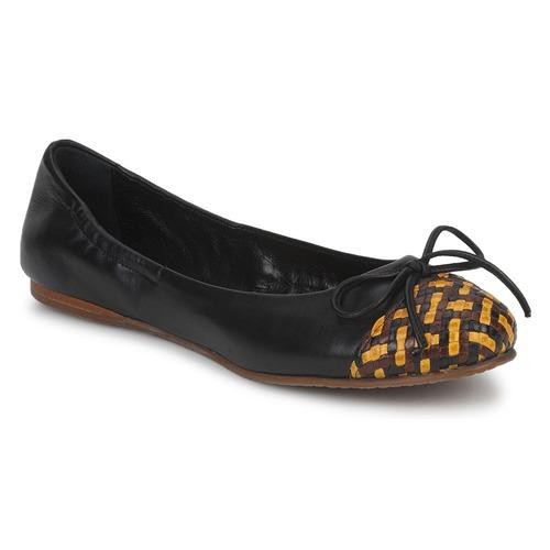 Zapatos Mujer Bailarinas-manoletinas Stéphane Kelian WALLY Negro / Amarillo