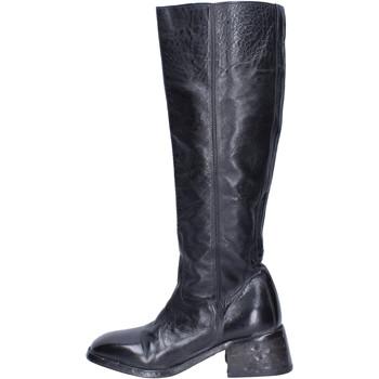 Zapatos Mujer Botas urbanas Moma Botas Cuero Negro