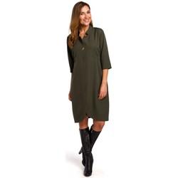 textil Mujer Vestidos cortos Style S189 Vestido Blazer - caqui