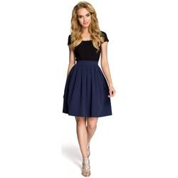 textil Mujer Faldas Moe M237 Falda - azul marino