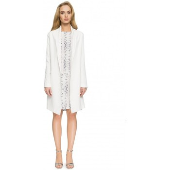 textil Mujer Chaquetas / Americana Style S071 Blazer largo - crudo
