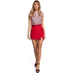 textil Mujer Faldas Moe M515 Skorts - rojo
