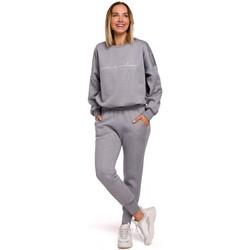 textil Mujer Pantalones de chándal Moe M535 Pantalones jogger con cintura elástica - acero