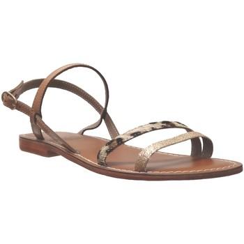 Zapatos Mujer Sandalias L'atelier Tropezien SA220 Beige