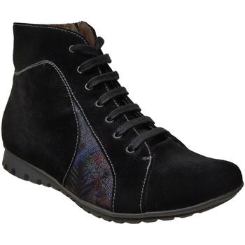 Zapatos Mujer Botas de caña baja Bz Bis Fz408 negro