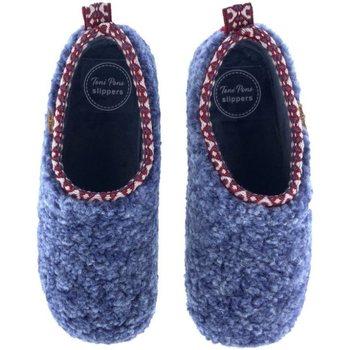 Zapatos Mujer Pantuflas Toni Pons Zapatillas de Casa  Marta-Sh Azul Azul