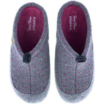 Zapatos Mujer Pantuflas Toni Pons Zapatillas de Casa  Mel-Lo Gris Gris