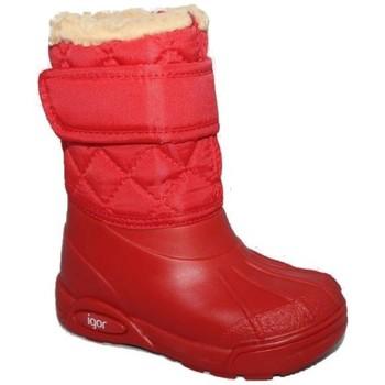 Zapatos Niña Botas de agua Igor 371 Rojo