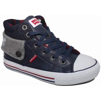 Zapatos Niño Zapatillas altas Levi's 4137 Azul