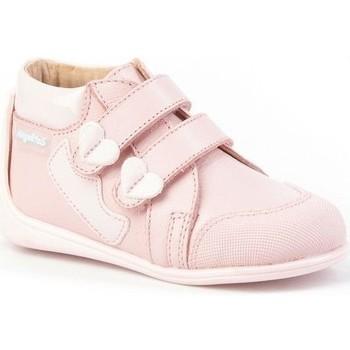 Zapatos Niña Botines Cbp - Conbuenpie Botas Primeros Pasos de piel by CBP Rose