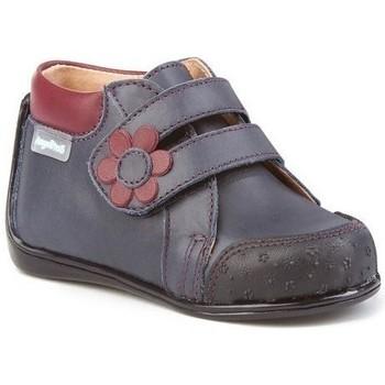 Zapatos Niña Botines Cbp - Conbuenpie Botas Primeros Pasos de piel by CBP Bleu