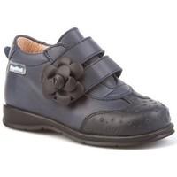 Zapatos Niña Botines Cbp - Conbuenpie Botines Sport de piel by CBP Bleu