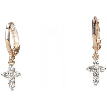 Relojes & Joyas Mujer Aretes Luna Collection 54125 oro