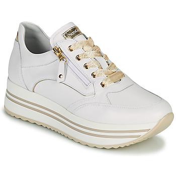 Zapatos Mujer Zapatillas bajas NeroGiardini DAKOTA Blanco