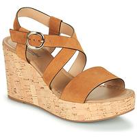 Zapatos Mujer Sandalias NeroGiardini JIPPO Cognac