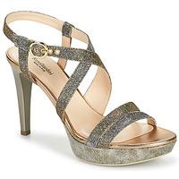 Zapatos Mujer Sandalias NeroGiardini KARKI Gris / Oro