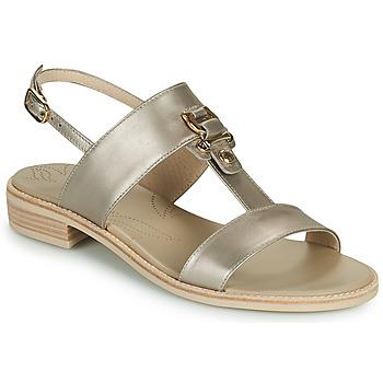 Zapatos Mujer Sandalias NeroGiardini PLUIE Oro
