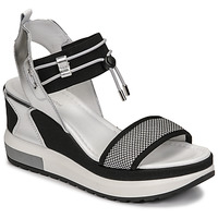 Zapatos Mujer Sandalias NeroGiardini CAMINO Negro / Plata