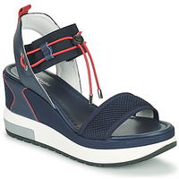 Zapatos Mujer Sandalias NeroGiardini CAMINO Marino / Rojo