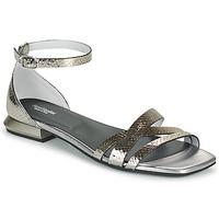 Zapatos Mujer Sandalias NeroGiardini TOMMA Plata