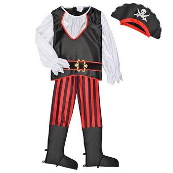 textil Niño Disfraces Fun Costumes COSTUME ENFANT PIRATE TOM Multicolor