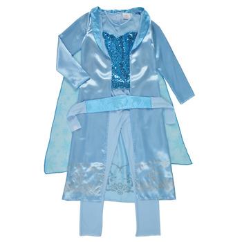 textil Niña Disfraces Fun Costumes COSTUME ENFANT PRINCESSE DES NEIGES Multicolor