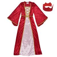 textil Niña Disfraces Fun Costumes COSTUME ENFANT REINE DE LA RENAISSANCE Multicolor