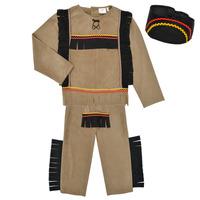 textil Niño Disfraces Fun Costumes COSTUME ENFANT INDIEN BIG BEAR Multicolor