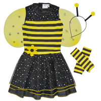 textil Niña Disfraces Fun Costumes COSTUME ENFANT BEE BEE Multicolor