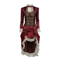 textil Mujer Disfraces Fun Costumes COSTUME ADULTE LADY STEAMPUNK Multicolor