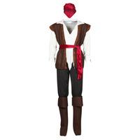 textil Hombre Disfraces Fun Costumes COSTUME ADULTE PIRATE THUNDER Multicolor