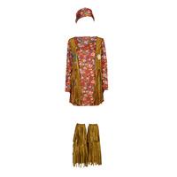 textil Mujer Disfraces Fun Costumes COSTUME ADULTE HIPPIE HOTTIE Multicolor