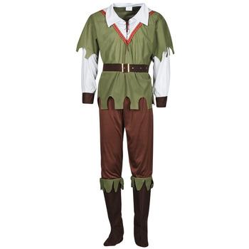 textil Hombre Disfraces Fun Costumes COSTUME ADULTE FOREST HUNTER Multicolor