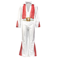 textil Hombre Disfraces Fun Costumes COSTUME ADULTE ROCK 'N ROLL STAR Multicolor