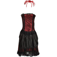 textil Mujer Disfraces Fun Costumes COSTUME ADULTE SALOON GIRL Multicolor